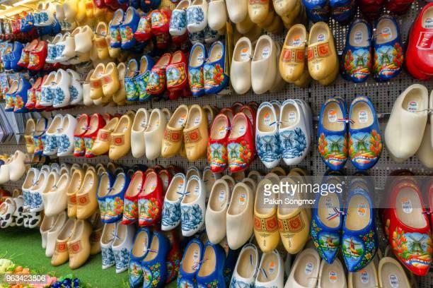 Dutch wooden shoes for sale