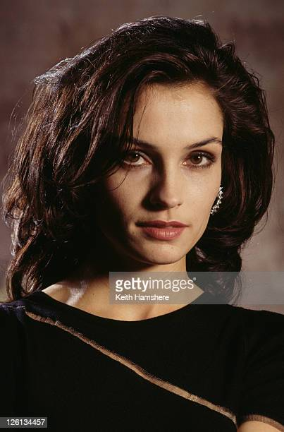 Dutchborn actress Famke Janssen stars as the villainous Xenia Onatopp in the James Bond film 'GoldenEye' 1995
