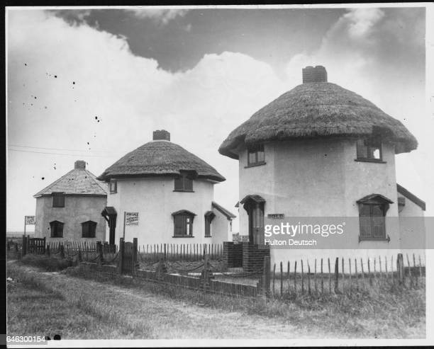 Dutchstyle houses built on Canvey Island to commemorate the first Dutch settlement in England