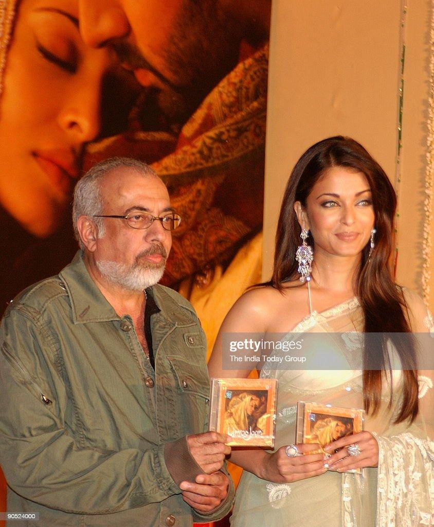Dutta and Aishwarya Rai during the launch of Umrao Jan Music in Mumbai Maharashtra India