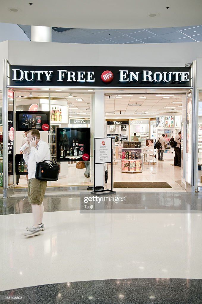 Duty Free In Lax High Res Stock Photo Getty Images