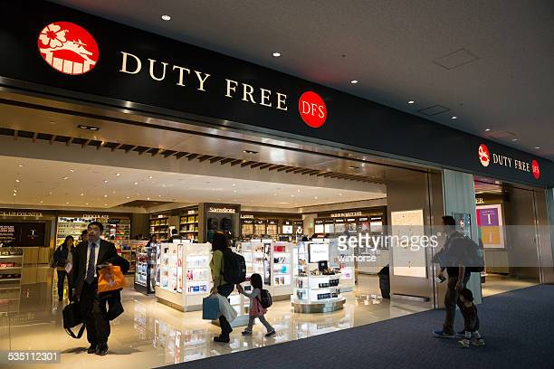 Duty Free Shop in Naha Airport, Japan