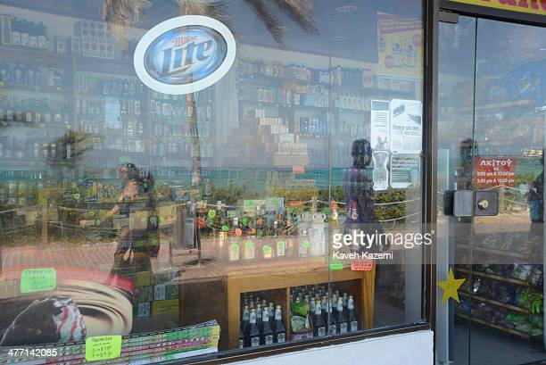 A duty free shop located on the beachfront is seen on January 26 2014 in San Andres Colombia San Andres is a duty free zone where many Colombians...