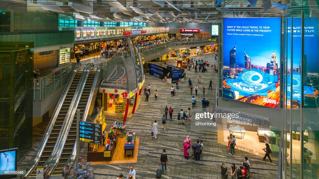 Duty Free Shopchangi Airportsingapore Stock Photo - Getty Images