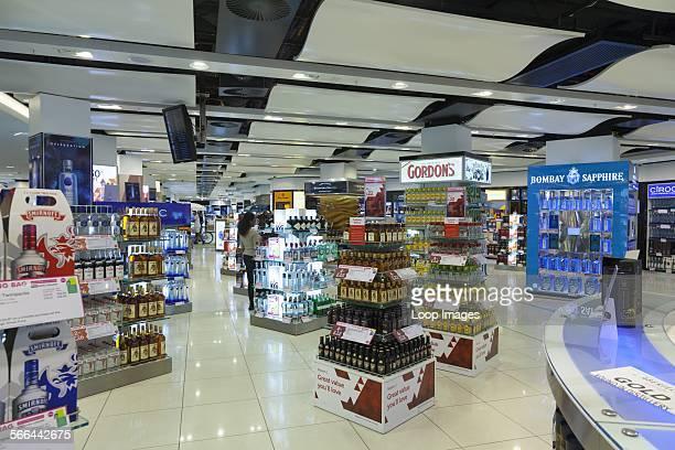 Duty free shops at Gatwick South Terminal