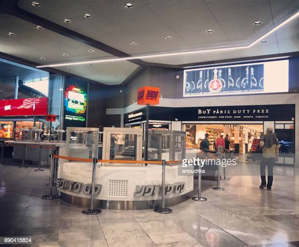 Duty Free shops at Roissy Charles de Gaulle Airport, Paris, France