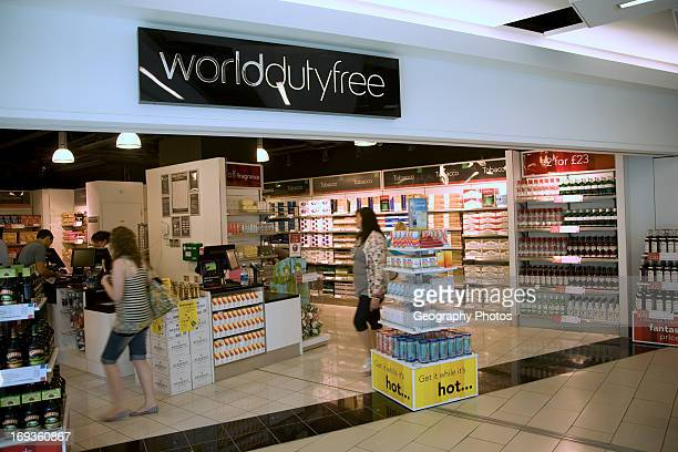 Duty Free shops Gatwick airport England