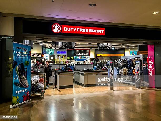 Duty free sport shop at Ben Gurion airport, Tel Aviv