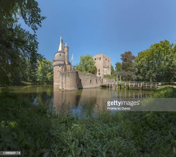 Duurstede castle, Wijk bij Duurstede, Utrecht, Netherlands.