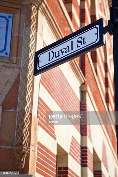 duval street - duval street stock pictures, royalty-free photos & images