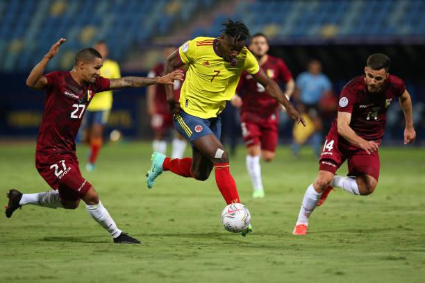 BRA: Colombia v Venezuela: Group B - Copa America Brazil 2021