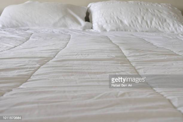 Duvet  Cover and Pillows on Double Bed