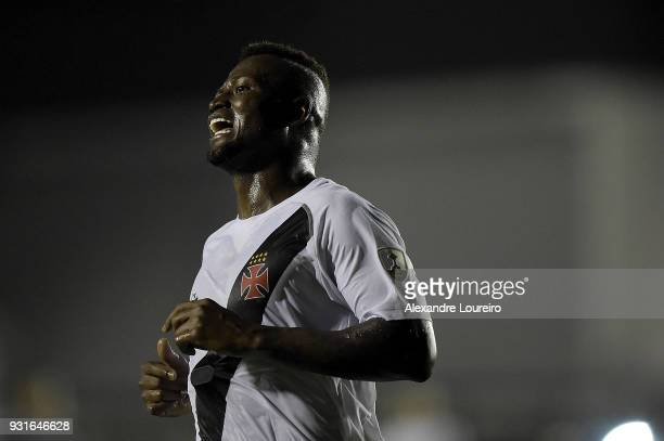 Duvier Riascosof Vasco da Gama reacts during a Group Stage match between Vasco and Universidad de Chile as part of Copa CONMEBOL Libertadores 2018...