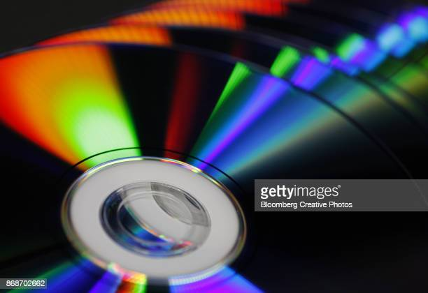 DVDs in a Stack