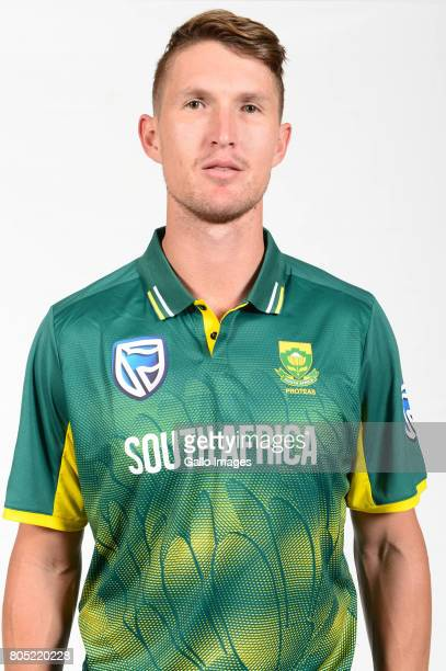 Dwaine Pretorius of the Proteas during the Proteas portrait shoot on May 13 2017 in Johannesburg South Africa