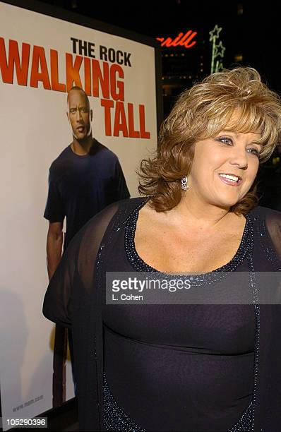 Dwana Pusser daughter of Buford Pusser during Walking Tall World Premiere Red Carpet at Grauman's Chinese Theatre in Hollywood California United...