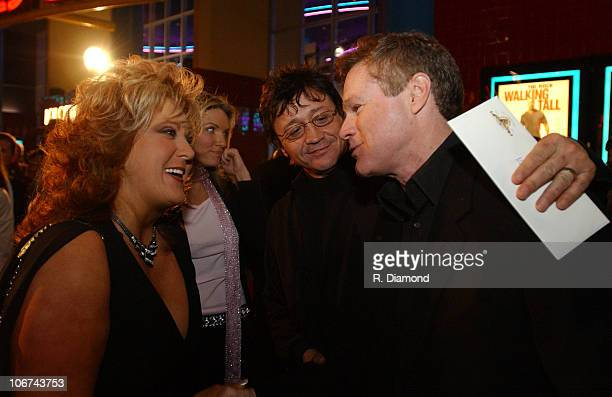 Dwana Pusser Mark Collie and David Keith during Walking Tall screening in Nashville at Regal Oprey Mills 20 in Nashville Tennessee United States