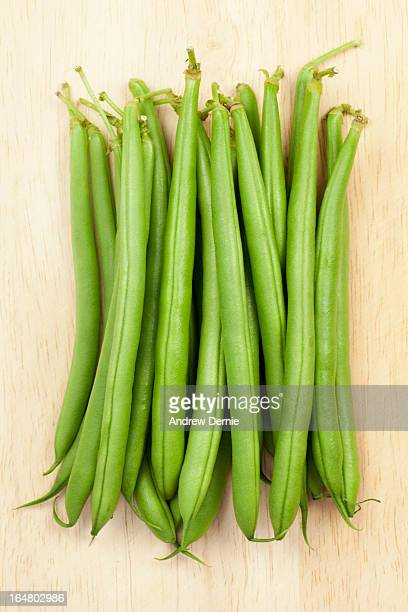 dwarf green beans - andrew dernie stock pictures, royalty-free photos & images