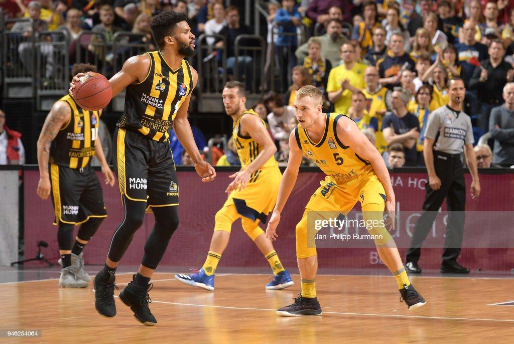 ALBA Berlin v MHP Riesen Ludwigsburg - easyCredit Basketball Bundesliga : News Photo