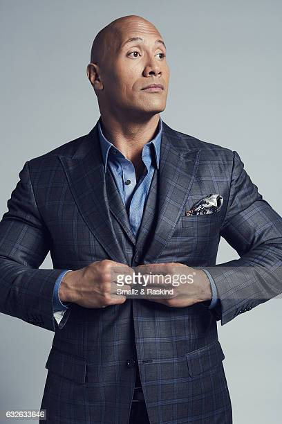 Dwayne Johnson aka The Rock poses for a portrait at the 2017 People's Choice Awards at the Microsoft Theater on January 18 2017 in Los Angeles...