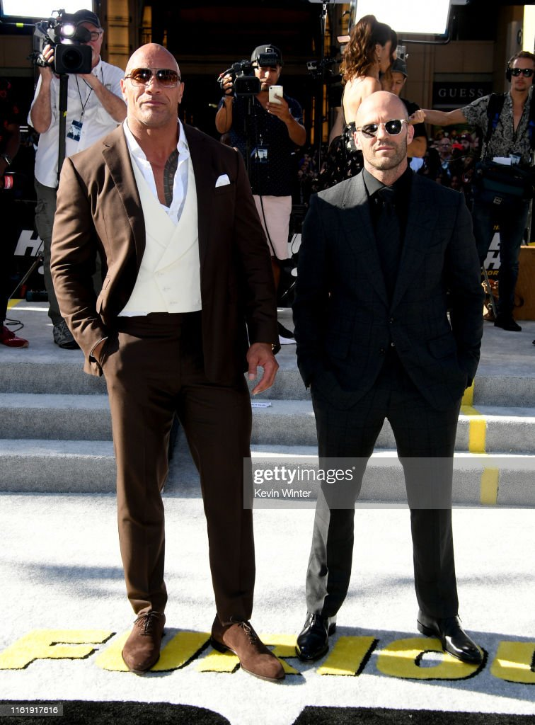 "Premiere Of Universal Pictures' ""Fast & Furious Presents: Hobbs & Shaw"" - Red Carpet : News Photo"