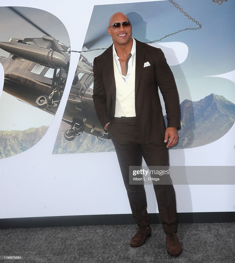 "Premiere Of Universal Pictures' ""Fast & Furious Presents: Hobbs & Shaw"" - Arrivals : News Photo"