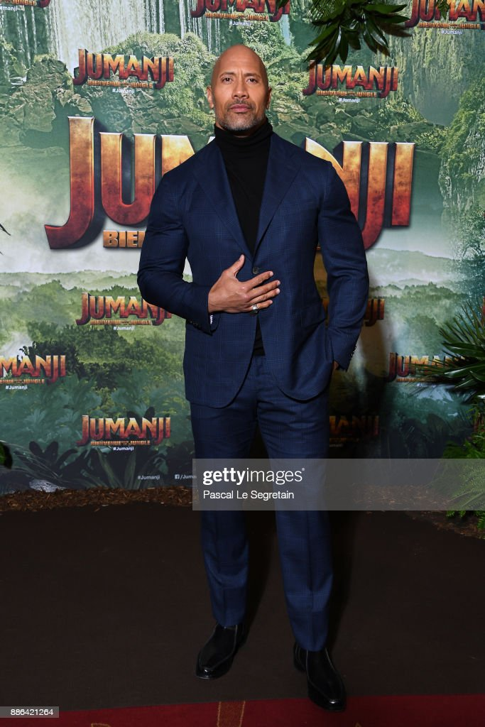 """Jumanji"" : Welcome to the Jungle -Jumanji : Bienvenue dans la jungle-"" Paris Premiere at Le Grand Rex"