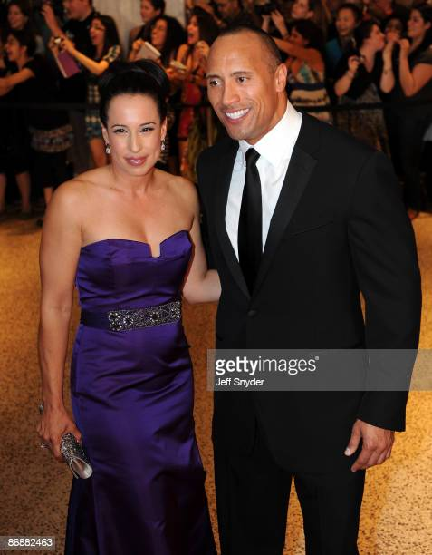 Dwayne Johnson attends the 2009 White House Correspondents' Association Dinner at the Washington Hilton on May 9 2009 in Washington DC