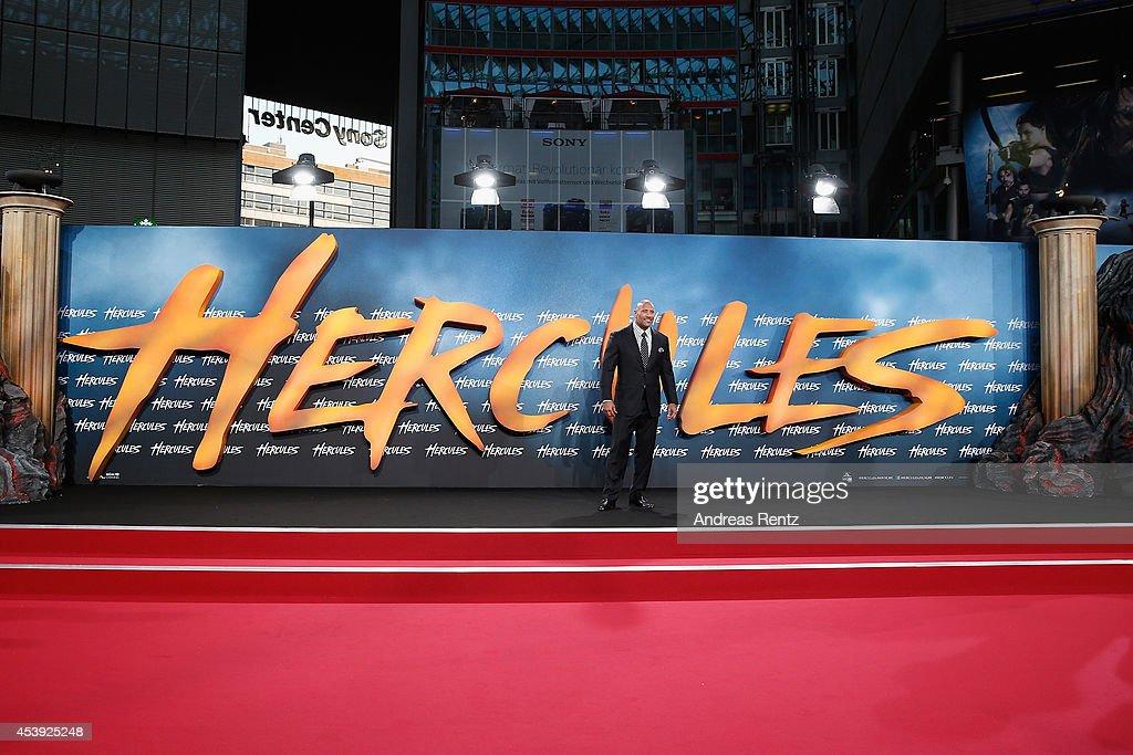 'Hercules' Europe Premiere : News Photo