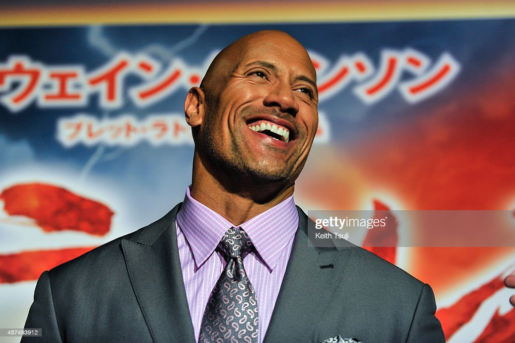 Dwayne Johnson Attends The Japan Premiere Of Hercules At
