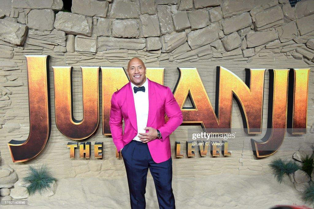 """Jumanji: The Next Level"" UK Film Premiere - Red Carpet Arrivals : News Photo"