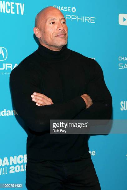 Dwayne Johnson attends the Surprise Screening Of Fighting With My Family during the 2019 Sundance Film Festival at The Ray on January 28 2019 in Park...