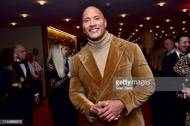 Dwayne Johnson attends the Time 100 Gala 2019 at Jazz at Lincoln Center on April 23 2019 in New York City