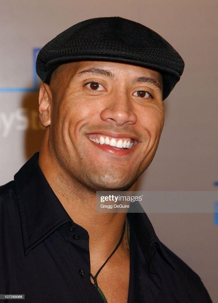 Dwayne Johnson during Playstation 2 'Playa Del Playstation' Party at Viceroy Hotel in Santa Monica, California, United States.