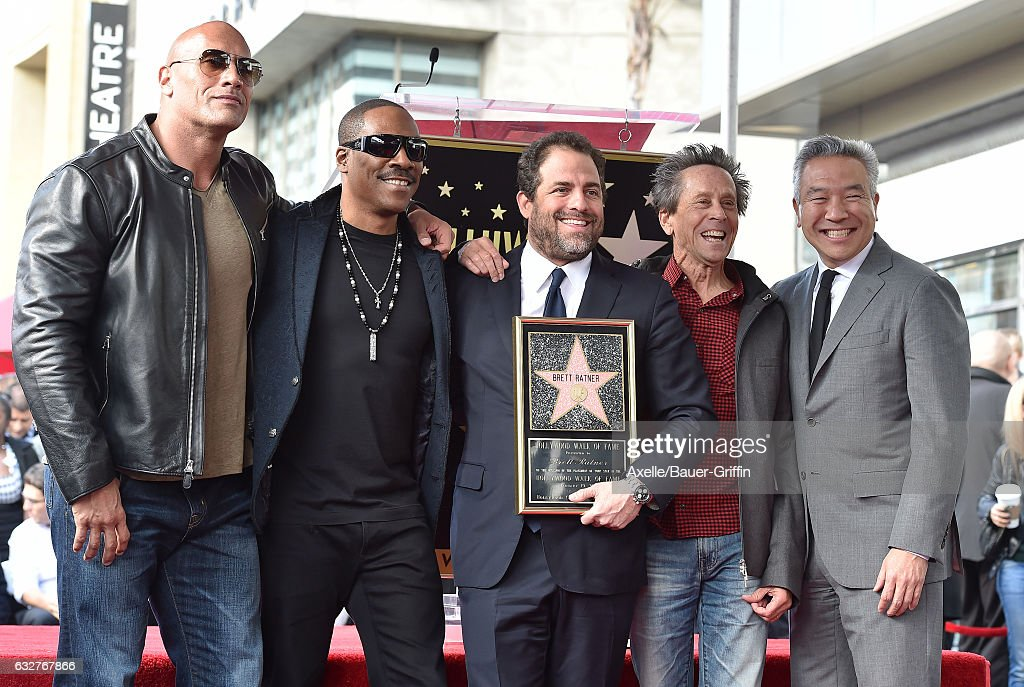 Brett Ratner Honored With Star On The Hollywood Walk Of Fame