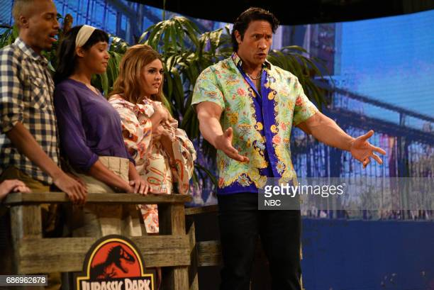 LIVE 'Dwayne Johnson' Episode 1725 Pictured Cecily Strong as Gemma Dwayne Johnson during 'Gemma' in Studio 8H on May 20 2017