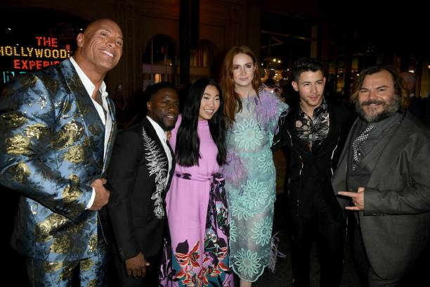 """CA: Premiere Of Sony Pictures' """"Jumanji: The Next Level"""" - Red Carpet"""
