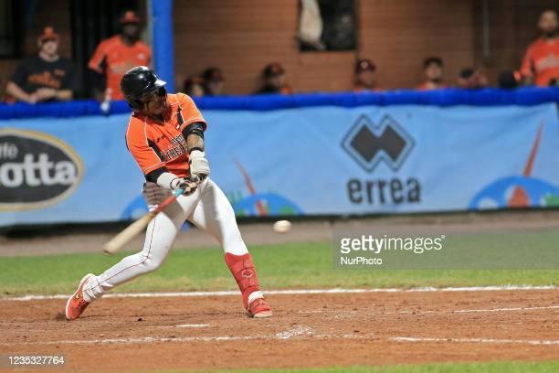 Dwayne Kemp during the Baseball match Baseball European Championship 2021 - Quarter finals - Netherlands vs Great Britain on September 16, 2021 at...