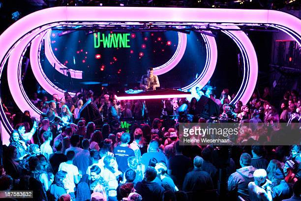 Dwayne performs onstage during the outside broadcast at the MTV EMA's 2013 on November 10 2013 in Amsterdam Netherlands