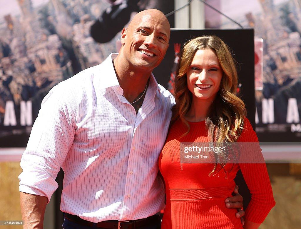 "Dwayne ""The Rock"" Johnson Hand/Footprint Ceremony : News Photo"