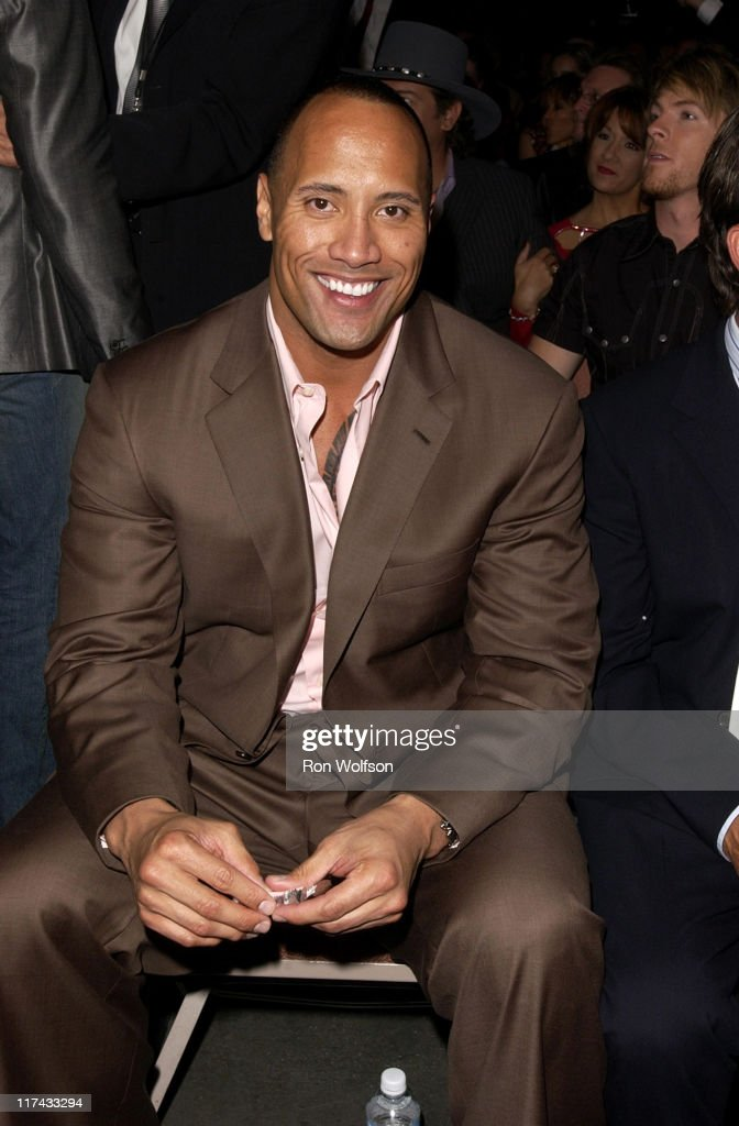 Dwayne 'The Rock' Johnson during 39th Annual Academy of Country Music Awards - Backstage and Audience at Mandalay Bay Resort and Casino in Las Vegas, Nevada, United States.