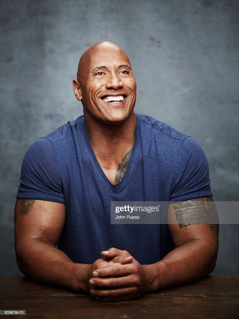 Dwayne Johnson, Emmy Magazine, July 1, 2017