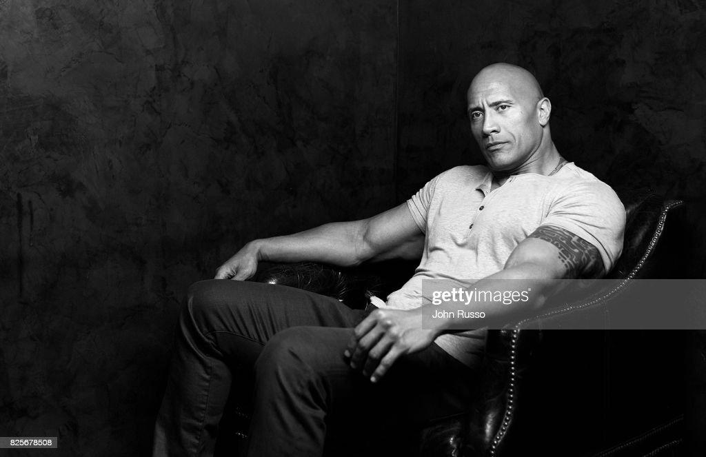 Dwayne Johnson, Emmy Magazine, July 1, 2017
