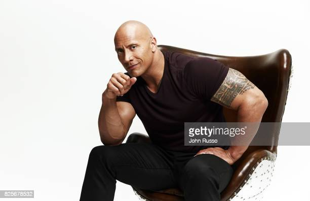 Dwayne 'The Rock' Johnson is photographed for Emmy Magazine on July 1 2017 in Los Angeles California