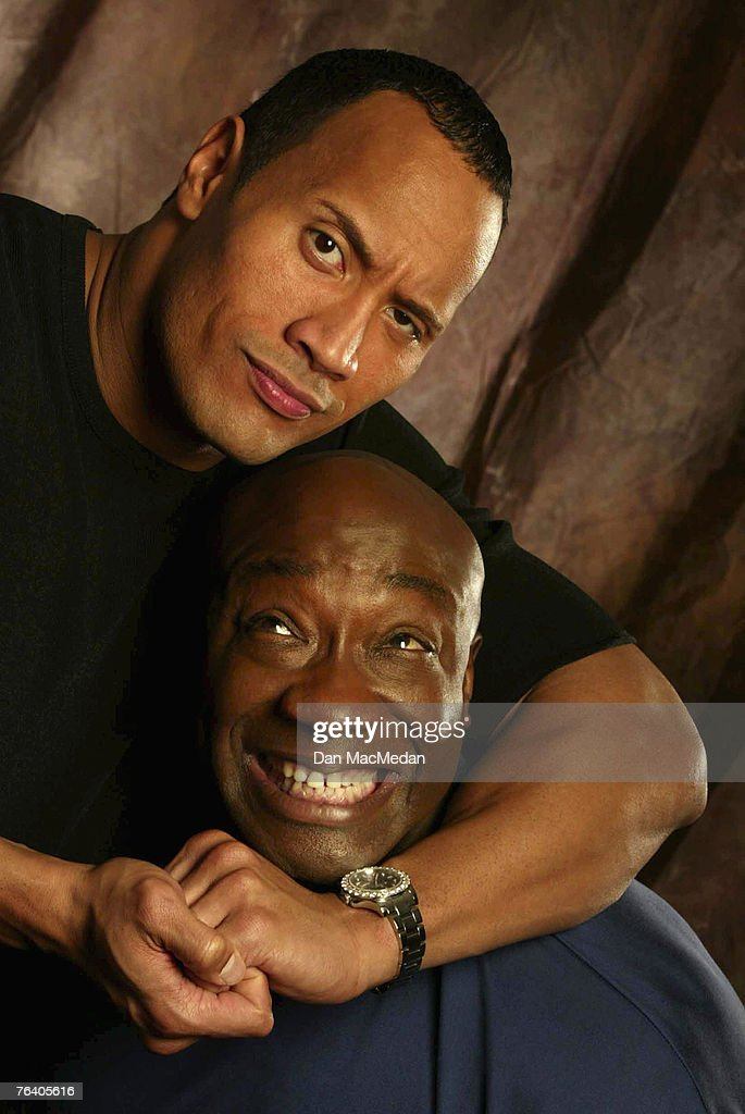 Dwayne 'The Rock' Johnson & Michael Clarke Duncan; The ...
