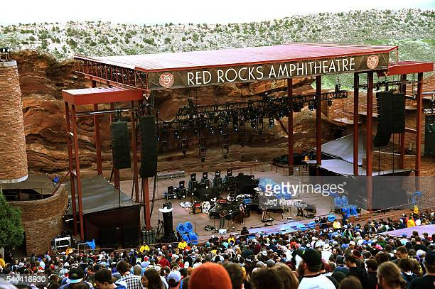 Dweezil Zappa and band perform at Red Rocks Amphitheatre on July 2 2016 in Morrison Colorado