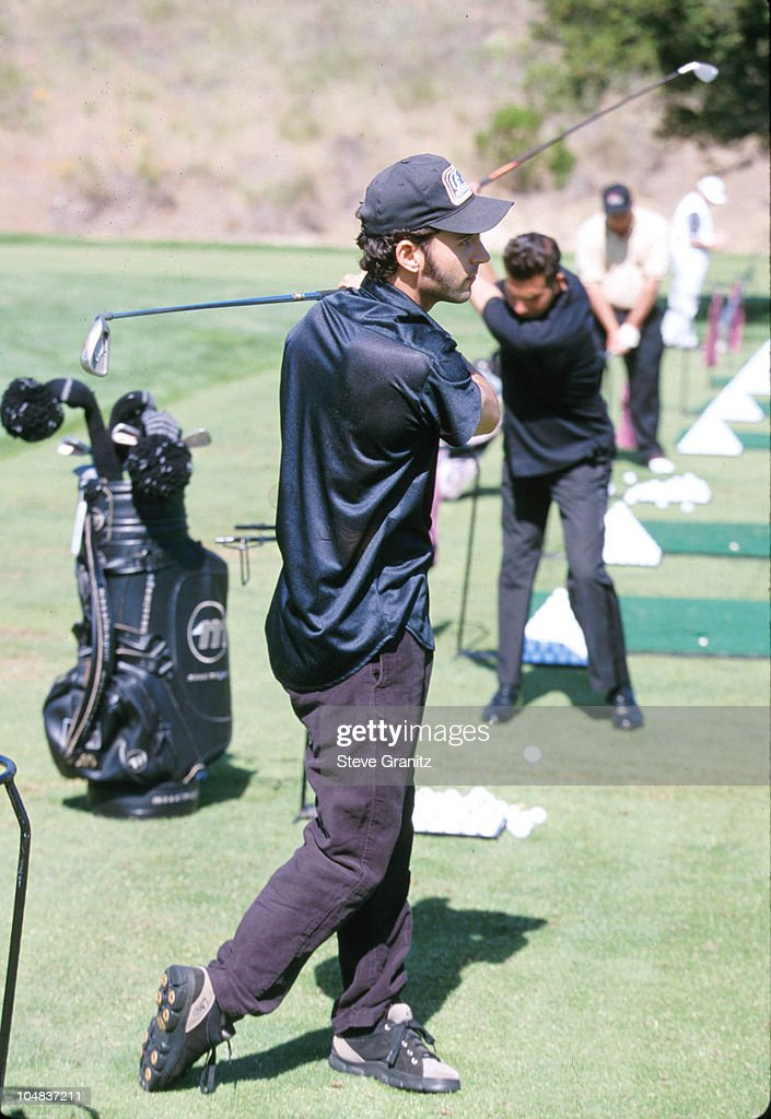 Dweezil Zappa during Casey Lee Ball Classic Charity Golf Tournament at Lake Sherwood Country Club in Westwood, California, United States.