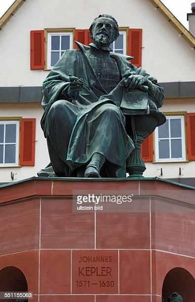 DWeil der Stadt Wuerm Heckengaeu BadenWuerttemberg Kepler monument Johannes Kepler mathematician astronomer astrologer