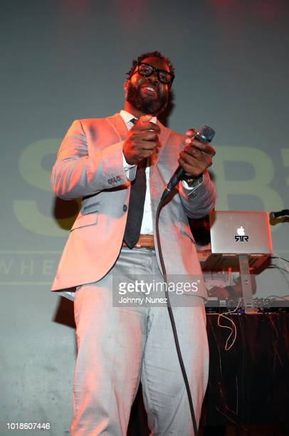 Dwele and Raheem DeVaughn perform at SOB's on August 17 2018 in New York City