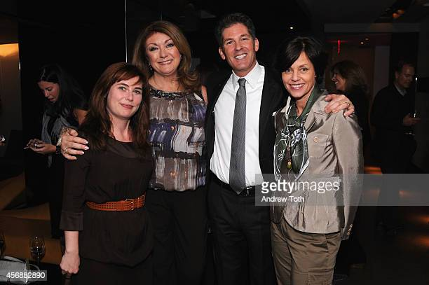 Dwell Editor in Chief Amanda Dameron President/CEO of Dwell Media Michela O'Connor Abrams President of AKA Larry Korman and Executive Vice President...